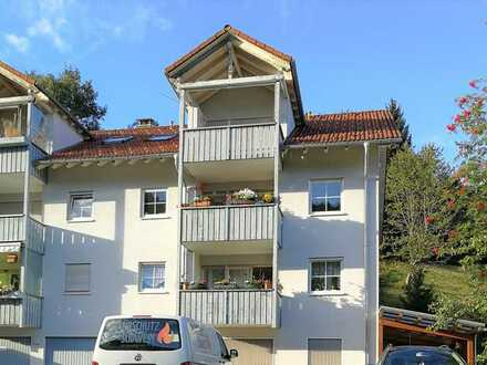 3-Zimmer-Wohnung mit Garage in ausgezeichneter, ruhiger und doch zentraler Lage in Todtmoos.