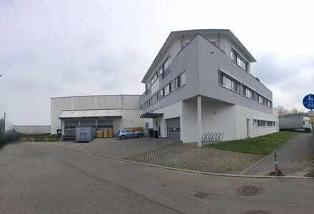 Produktion, Lager, Büro mit Penthouse-Wohnung - provisionsfrei