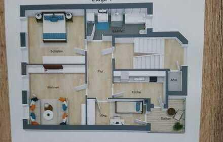 moderne 3Raum-ETW, 1.OG, Balkon in Gera-Untermhaus