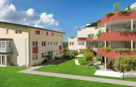 Großzügige 2-Zimmer-Wohnung mit Garten, Abstellraum + Bad mit Fenster -KfW 55 Förderung / N17