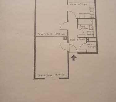 Modernisierte 2-Zimmer-Hochparterre-Wohnung mit Wintergarten in Bonn- Auerberg
