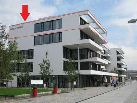 357qm-Büroloft am Europahafen