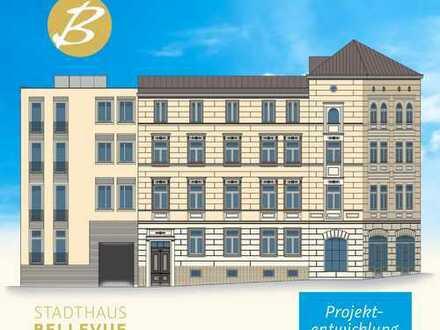 -Erstbezug- moderne 4-Raumwohnung mit hochwertiger Ausstattung im Stadthaus Bellevue