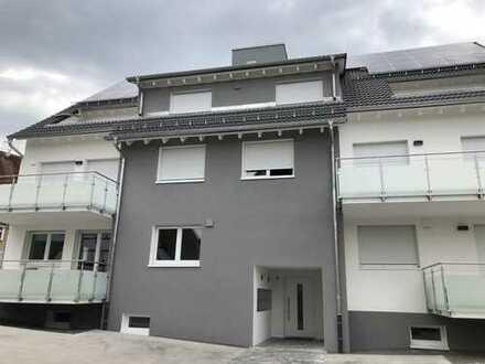 Neubau - EG - 2 Zimmerwohnung mit EBK, Balkon