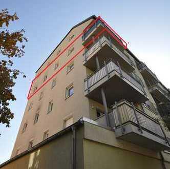 ***Einbauküche*** 3-Raum Wohnung mit Balkon, Laminat und Lift