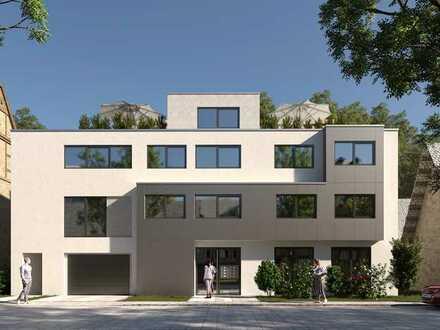 Moderne & helle 4-Zimmer Wohnung mit Balkon, Erstbezug, provisionsfrei!