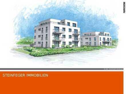Bad Nauheim: Attraktive 3 Zimmer Wohnung mit Garten, Aufzug und Tiefgarage/2020 Fertigstellung