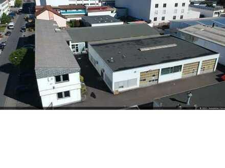 Bürogebäude mit Produktions und Lagerhallen in Heusenstamm zu verkaufen