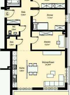 NEUBAU Schöne 4- oder 3-Zimmer-Wohnung in Bad Mergentheim