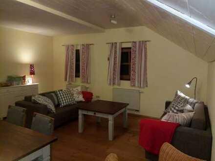 Gemütliche 1-Zimmer-Wohnung mit EBK in Bernbeuren