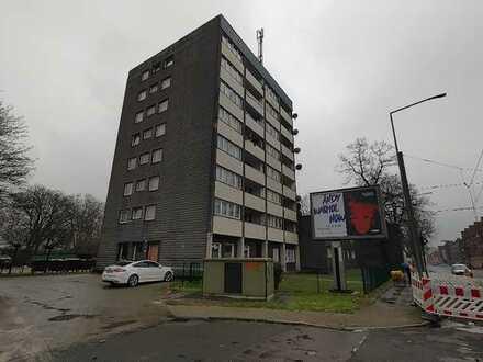 Kleine Single-Wohnung über den Dächern von Marxloh. Balkon!!