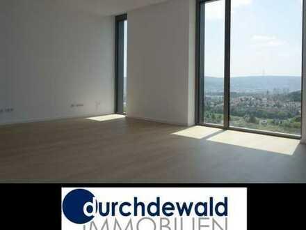 Moderne 2,5-Zimmer-Neubau-Wohnung im höchsten Wohnhaus Stuttgarts