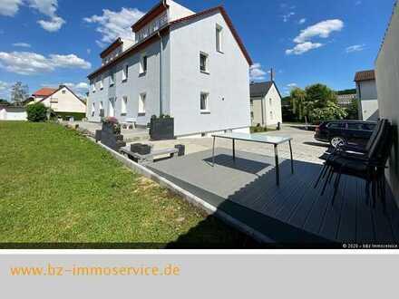 2,5-Zimmer-Wohnung mit EBK, Schwedenofen und Gemeinschaftsgarten