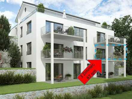 +++ ERSTBEZUG +++ Schöne 3 Zimmer Wohnung (87,00 qm) mit sonnigem Süd-Balkon
