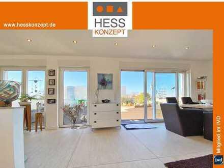 Penthouse-Wohnung in Hürther Top-Lage mit Blick auf Köln! 145qm Wohnen+160qm Terrassen!