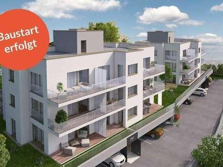 Baustart erfolgt - FRISCHLUFT_Über der Stadt. In der Natur_Wohntraum für FAMILIEN