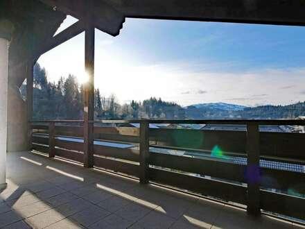 Invest! Alpin gestaltete Wohnung in sonniger Lage von Going