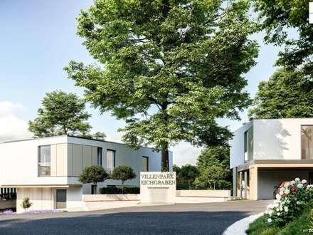 EXKLUSIVES WOHNEN IM WIENERWALD +++ Villa Ode an die Freude +++ VILLENPARK EICHGRABEN - Provisionsfrei