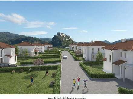 Neue, sonnige Doppelhaushälfte ca. 121 m² mit Blick auf die Burg Hochosterwitz