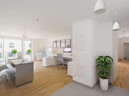 ZENTRALST MIT BESTER ANBINDUNG - Ihr neues Büro mit Terrasse in Purkersdorf - ERSTBEZUG