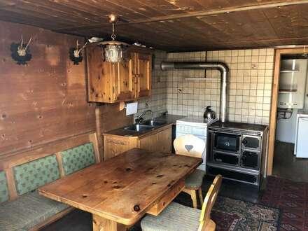 Wohnung in einer Berghütte mitten auf der Piste zu vermieten
