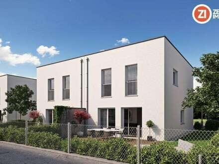 Leistbares Wohnen nahe LINZ - geförderte Häuser in Strassham