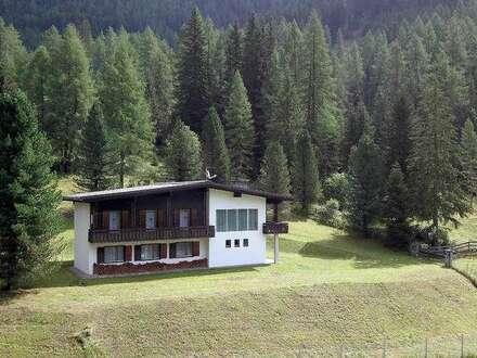Freizeitwohnsitz in Panoramalage in Außervillgraten