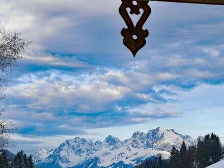 Tiroler Chalet mit Kaiserblick