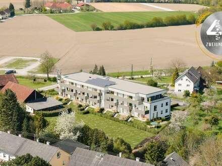 """Neubauprojekt """"Vierzig72"""" - Wunderschöne 2 ZI-Gartenwohnung im Zentrum von Alkoven"""