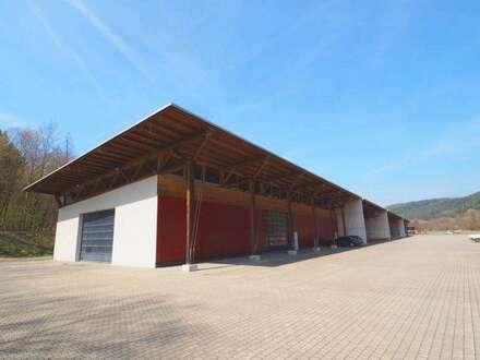 beheizte Mehrzweckhalle mit Außenlager   A2 Zöbern/Kirchschlag