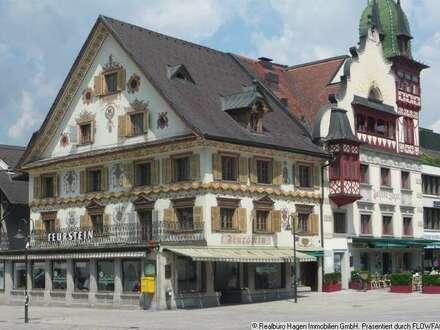 Repräsentative Gewerbeflächen direkt am Marktplatz in Dornbirn