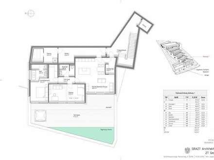 TOP 1 + 133,18 m² WNF + PROVISIONSFREI FÜR DEN KÄUFER + NÄHE REINERKOGEL + 97,57 m² TERRASSE