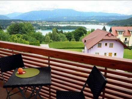 Schöne Eigentumswohnung mit traumhaftem Seeblick am Faaker See!