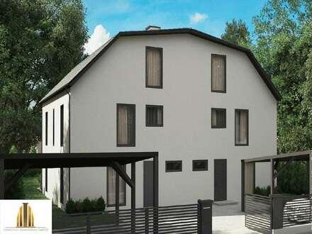 Neubautraum Ziegelmassiv Doppelhaus 5 km nordwestlich von Tulln