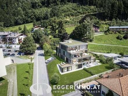 Zell am See - Thumersbach: Neubau Gartenwohnung auf 2 Etagen, Seenähe