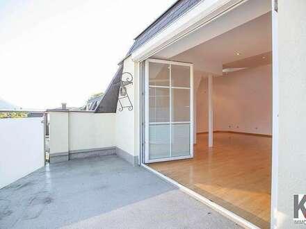 K3! SBG-Glasenbach: Neuwertige 3 Zi-Wohnung (80m²) mit Dachterrasse zum Mieten!