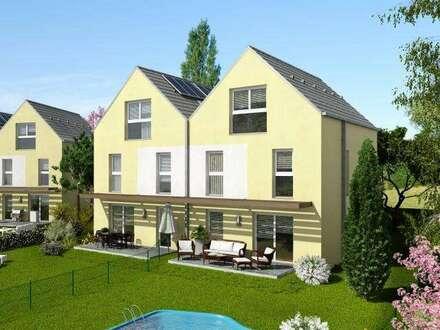 Neues, wunderschönes Doppelhaus im Zentrum von Guntramsdorf, großer Garten!