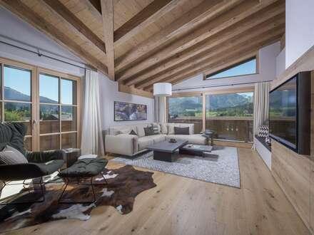 Möblierte Luxus-Chalets in Sonnenlage, am Ortsrand von Fieberbrunn in Tirol