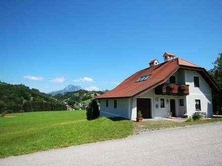 Idyllisches Landhaus mit Traunsteinblick