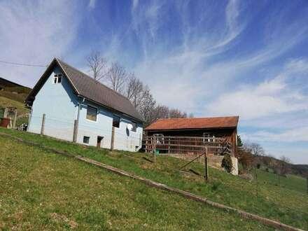 Ferien-/Wochenendhäuschen im Gemeindegebiet Gloggnitz zu vermieten