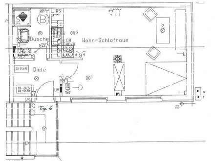 PROVISIONSFREIE Garconniere mit ca. 36 m² Wohnnutzfläche zu VERMIETEN