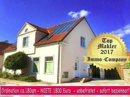 2560 Berndorf / St. Veit. Ordination ca.180qm - MIETE 1800 Euro - unbefristet - sofort beziehbar