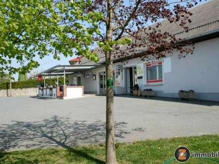 Überkompletter Gasthof mit Fremdenzimmern, Veranstaltungshalle, Weinkeller, uvm.!