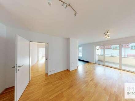 3-Zimmer Wohnung | hell & freundlich | großer Wohnbereich | zwei Balkone