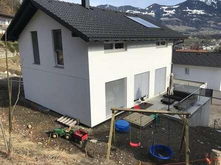 neues Einfamilienhaus