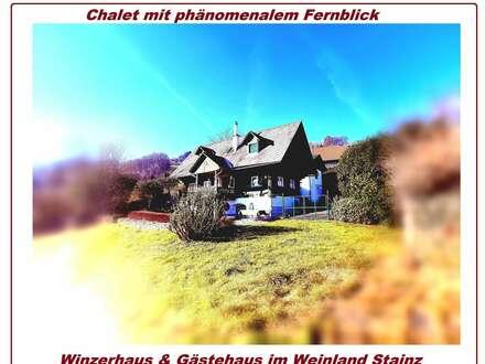 Historisches Winzerhaus im Gamsgebirg; + Gästehaus in der Südwest-Steiermark