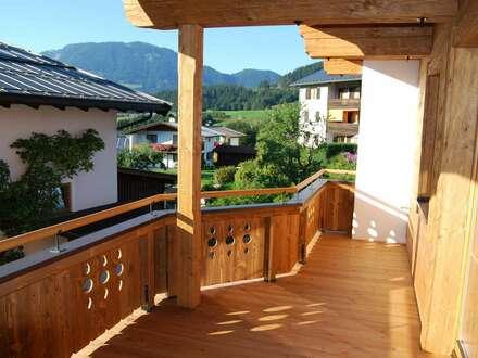 Fieberbrunn: Sonnige, gutgeschnittene Wohnung - nur fünf Gehminuten zur Bergbahn und ins Wander- und Skigebiet