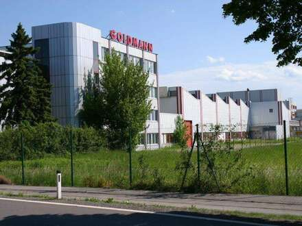 Produktion-/Lagerhallen ab 600m² bis 10.000m² inkl. Büroflächen zu vermieten - Erweiterungsmöglichkeit für Hallen als auch…