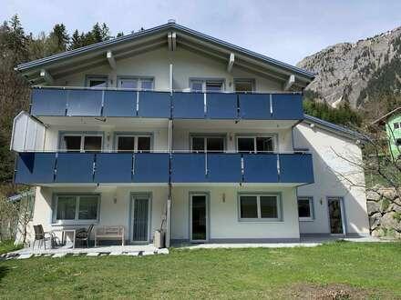 Ferienwohnung mit grosser Terrasse und Garten
