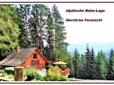 Traumhaftes Chalet mit herrlicher Fernsicht, am idyllischen Hirzmann- See